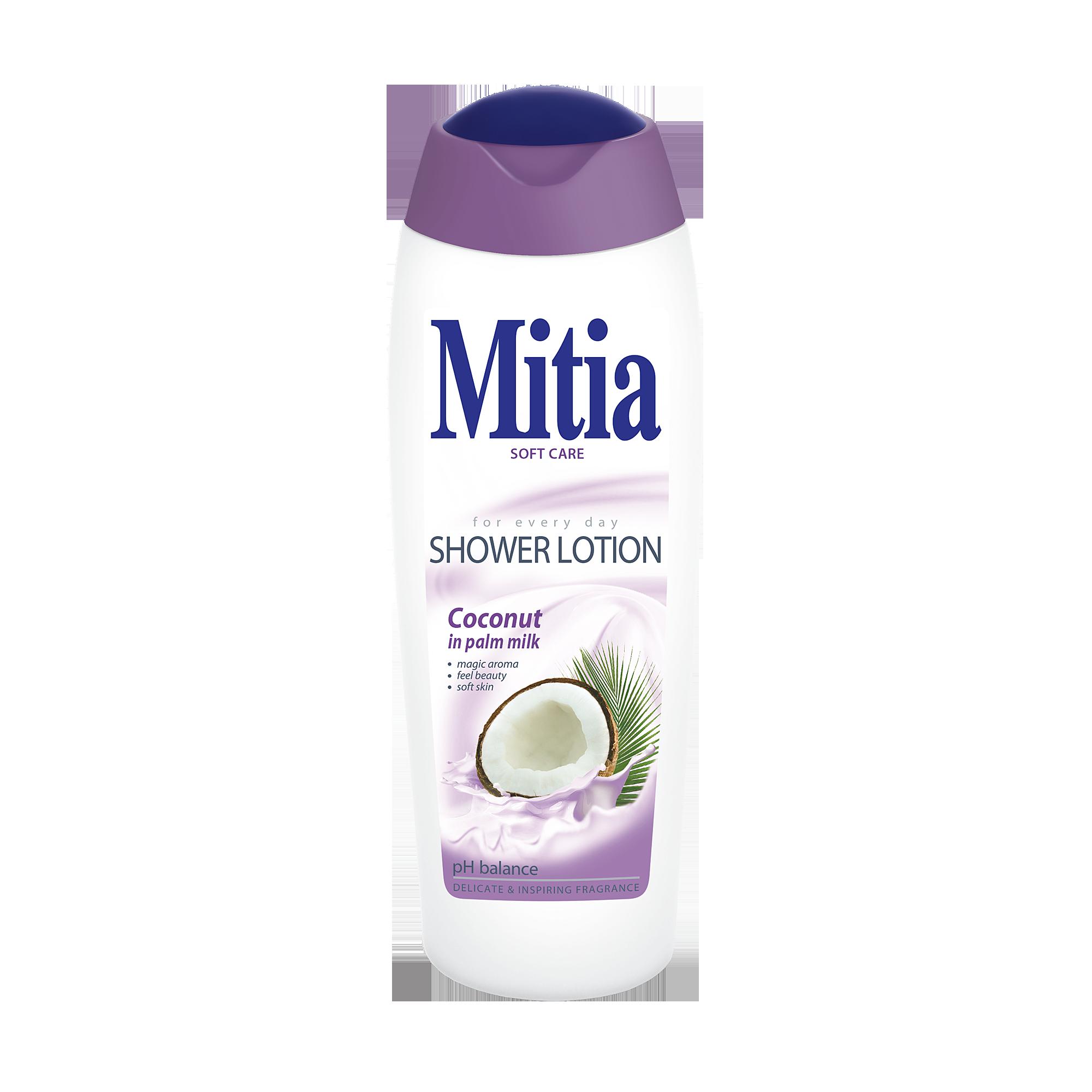 Mitia sprchové mléko Coconut in palm milk
